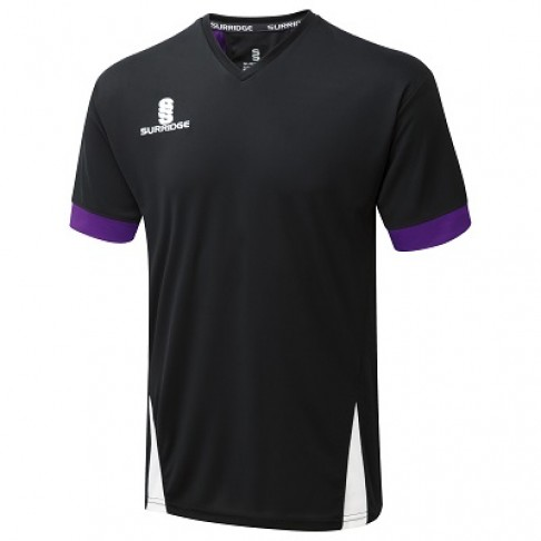 Black-Purple-White