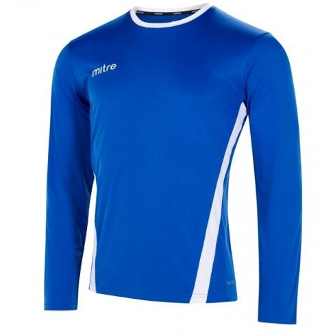 Mitre Origin Long Sleeve Football Shirt  T70067 From £9.00