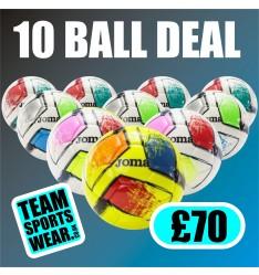 Joma Dali II Football Ten Ball Deal £70.00 400649