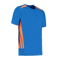 Electric Blue-Fluo Orange