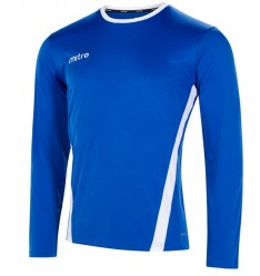Mitre Origin Long Sleeve Football Shirt  5T70067 From £9.55